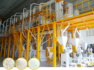 Maize Flour Milling Plant with Pneumatic Roller Mill